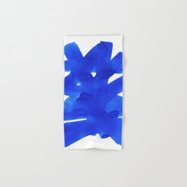 Superwatercolor Blue Hand & Bath Towel