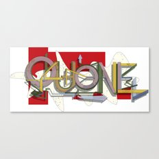QUONE ABSTRACT Canvas Print