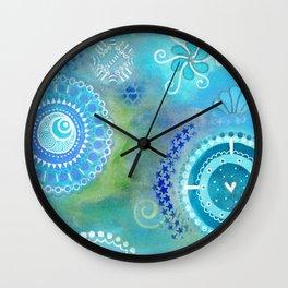 Fairytale Pinwheeling Wall Clock