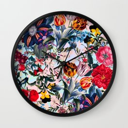 Sky Garden II Wall Clock