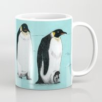penguins Mugs featuring Penguins by 1 of 20