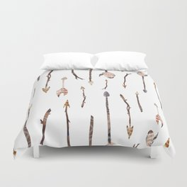 Boho Arrows with Feathers Duvet Cover