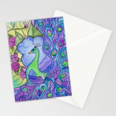 Peacock Garden Too Stationery Cards
