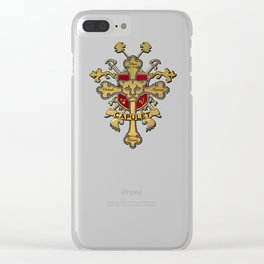 Prince Of Cats Clear iPhone Case