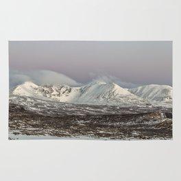 The Mountain An Teallach at Dawn Rug