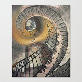 Grand Ascent Canvas Print