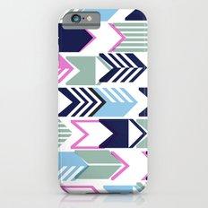 Tribal Arrows (Blue & Lavender) iPhone 6s Slim Case