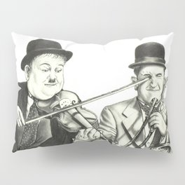 Laurel and Hardy Pillow Sham