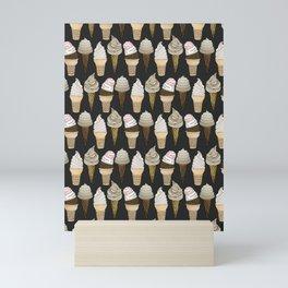 Ice Cream Cones Mini Art Print