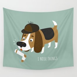I Nose Things Wall Tapestry