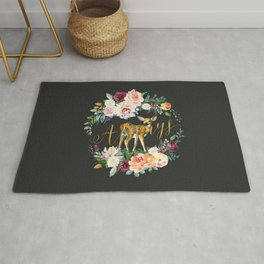 Always - Fawn - Gold/Charcoal Rug