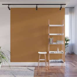 Copper Solid Color Wall Mural