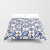 morocco Duvet Covers featuring Morocco by Charlotte Rigby