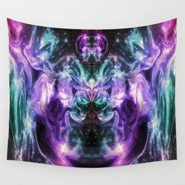 Ultraviolet Nexus Wall Tapestry