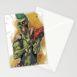 Yummy Zombie Stationery Cards