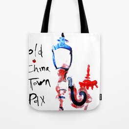 Portland Old China Town Tote Bag
