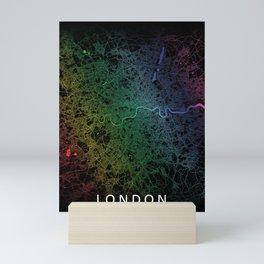 London City Map Mini Art Print
