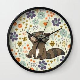 Free & Wild 2 Wall Clock