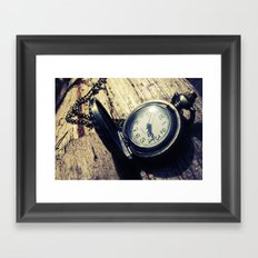 Old Time Framed Art Print