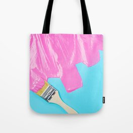 HYPERCOLOR PAINT AND BRUSH Tote Bag