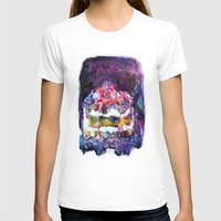 cake T-shirts featuring Cake by Andreea Maria Has