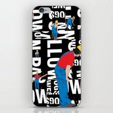 TYPE MAN iPhone & iPod Skin