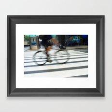 City Traveler Framed Art Print