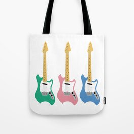Strumming the guitar! Tote Bag