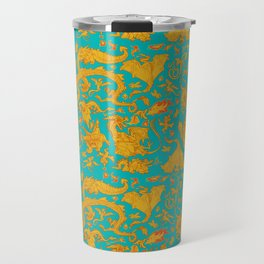 Dragon Paper Travel Mug