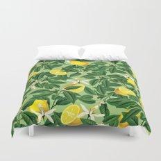 Lemonade || #society6 #decor #pattern Duvet Cover