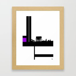 Just Around The Bend Framed Art Print