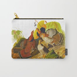 Ruffed Grouse Bird Carry-All Pouch