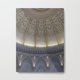 At the music hall Metal Print