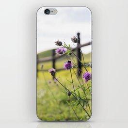 Bumblebee Flower iPhone Skin