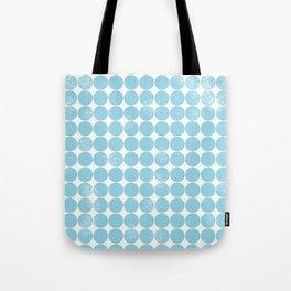 Dot Pattern Tote Bag