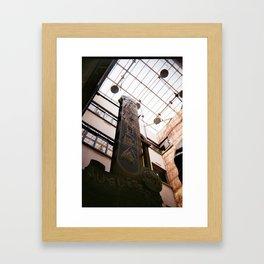 Juguetería Avenida Framed Art Print