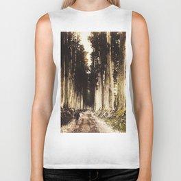 Alone in the woods of Nikko Biker Tank