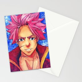 Handsome Flame Boy Stationery Cards