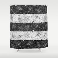 bubbles Shower Curtains featuring Bubbles by Ana Montaño