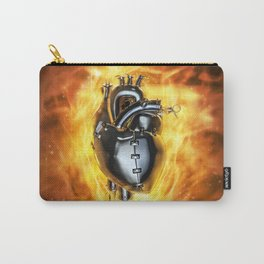 Heavy metal heart Carry-All Pouch