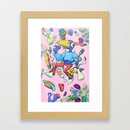 Duck Float Framed Art Print