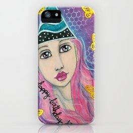 Happy Birthday KIF Girl iPhone Case