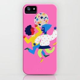 Neon Disco iPhone Case