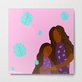 Mother and Daughter Metal Print
