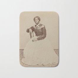 Harriet Tubman Vintage Photograph Bath Mat
