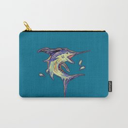 Jumping Marlin Carry-All Pouch