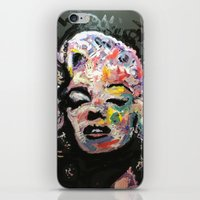 hollywood iPhone & iPod Skins featuring Hollywood by Matt Pecson