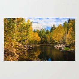Autumn, Hidden Lake Rug