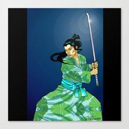 Eternal Samurai I Canvas Print