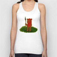 ewok Tank Tops featuring Ewok by Delucienne Maekerr